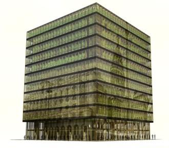 Il souhaite également mêler architecture et horticulture dans la construction n